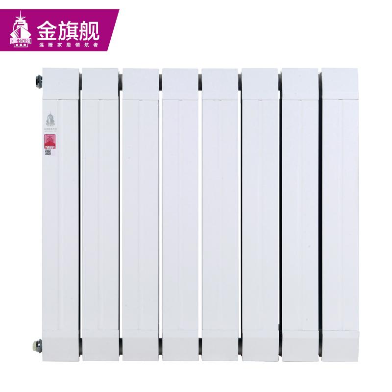 铜铝复合暖气片80x60白色