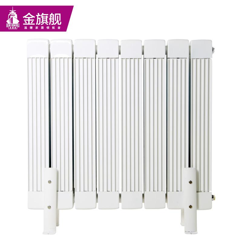 铜铝复合暖气片85x80白色
