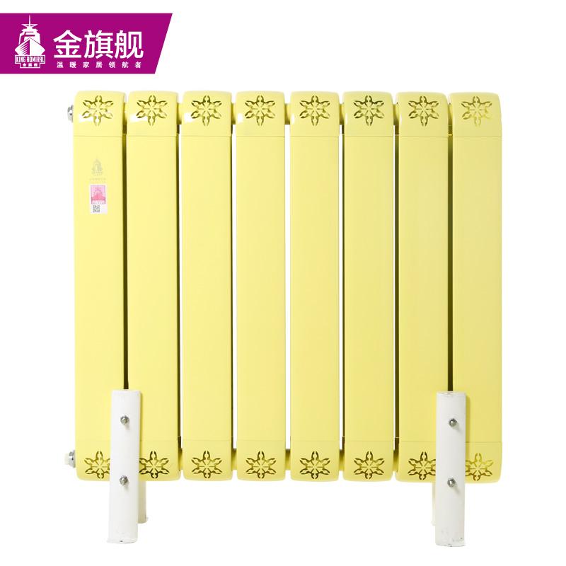 铜铝复合暖气片85x80黄色