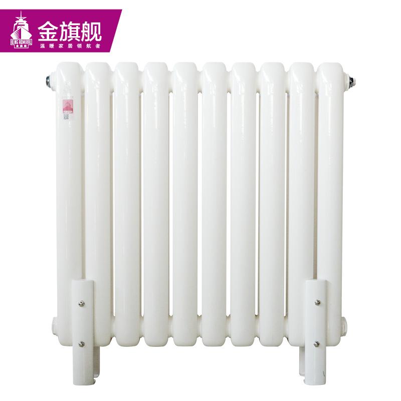钢制暖气片60x30新平头白色