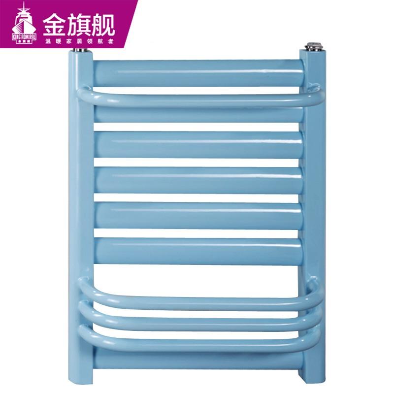 钢制卫浴暖气片50插背蓝色