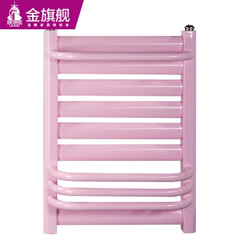 钢制卫浴暖气片50插背傅粉色