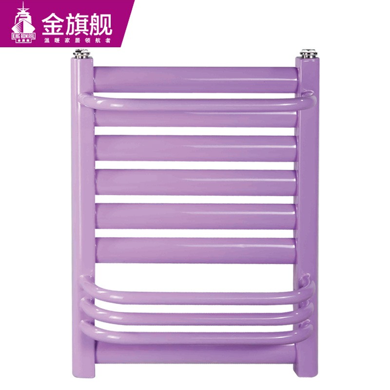 钢制卫浴暖气片50插背紫色