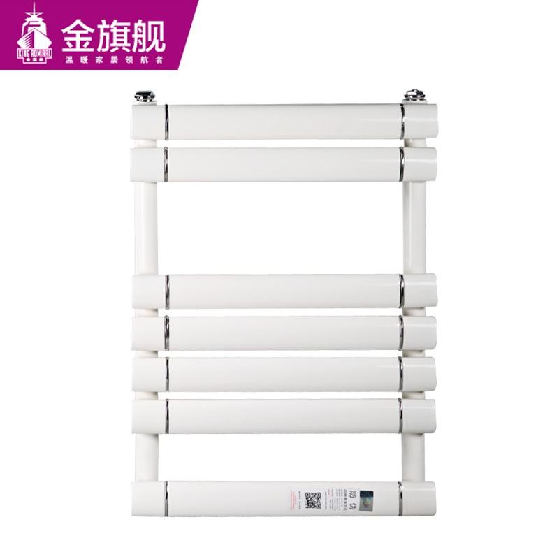 铜铝卫浴暖气片单层插接平板600-白色