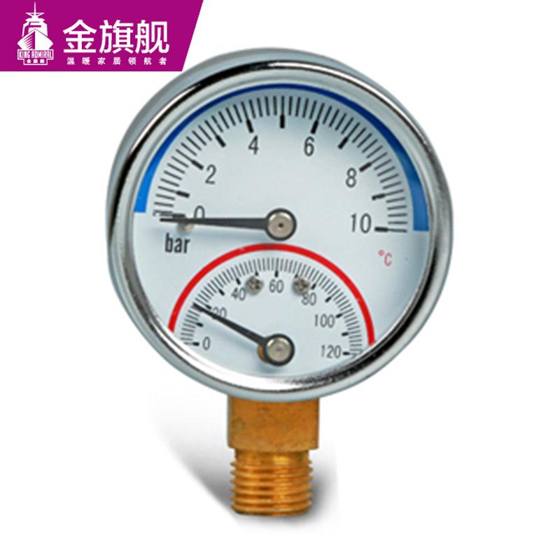 暖气片配件-温度压力表